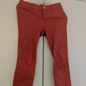 J Brand leather Capri 25